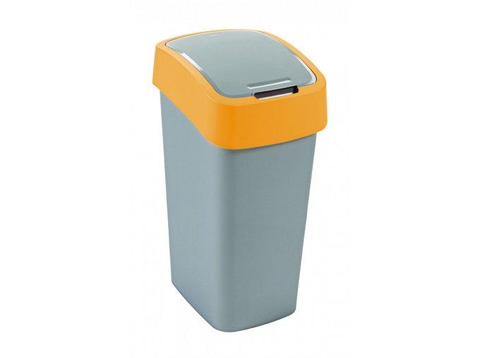 Odpadkový koš FLIPBIN 50L - žlutý