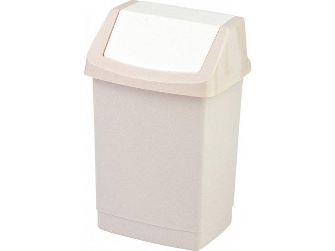 Odpadkový koš CLICK 50L - savanna