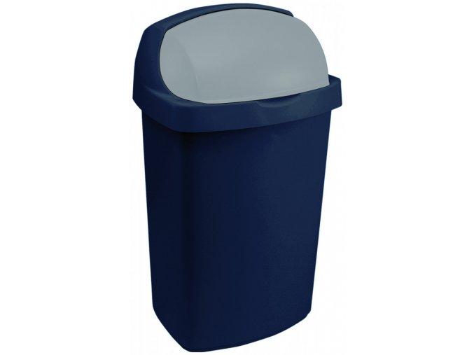 Odpadkový koš ROLL TOP 50L - modrý