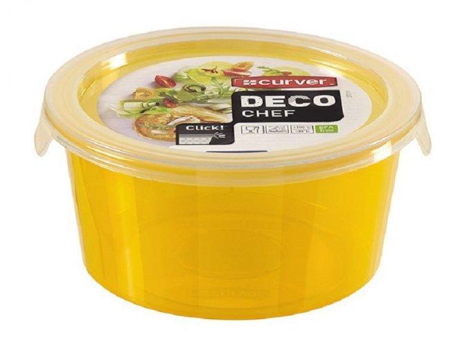 Dóza DECO CHEF 0,5L - oranžová