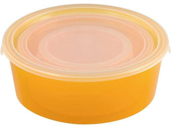 Set dóz DECO CHEF 3ks - oranžová