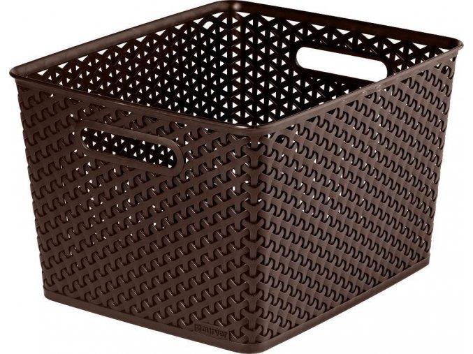 Box MY STYLE - L - tm. hnědý