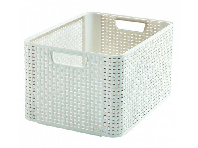 Box STYLE - L- krémový