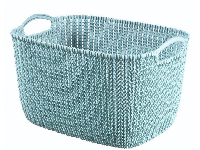 Košík KNIT 19L - modrý