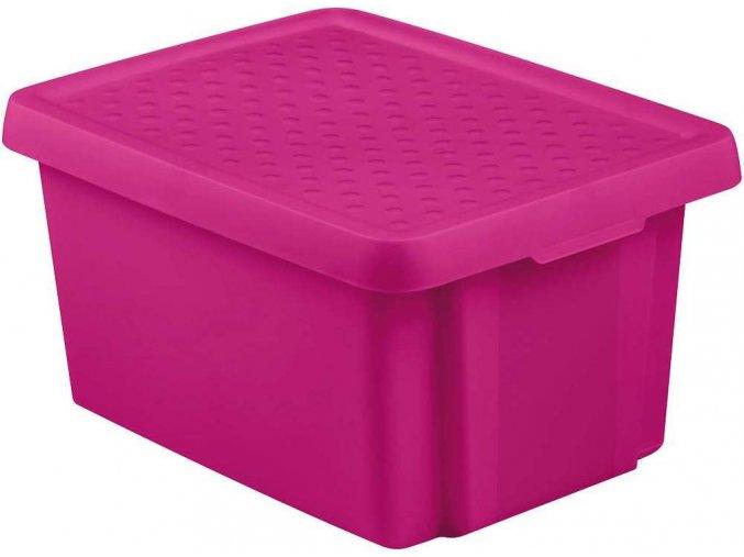 Box ESSENTIALS 16L - fialový