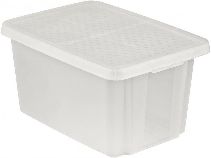 Box ESSENTIALS 45L - transparentní