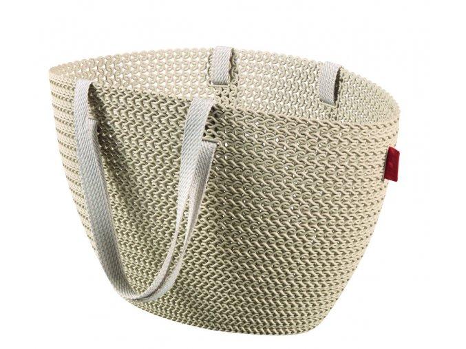 Bag EMILY KNIT - krémová