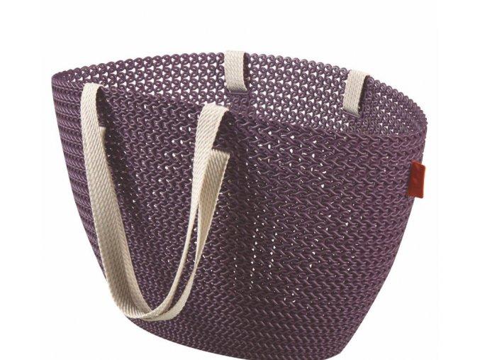 Bag EMILY KNIT - fialová