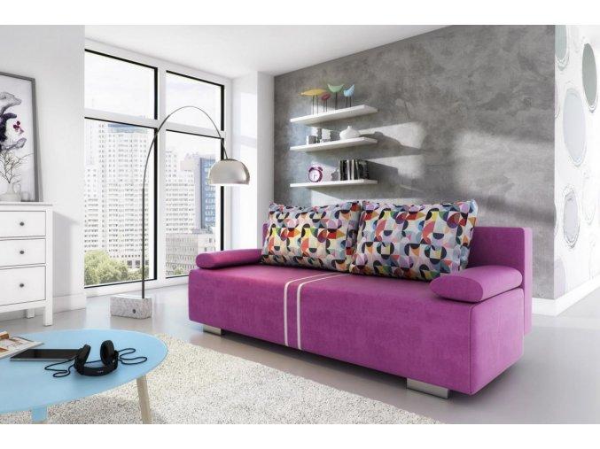 Pohovka Amálie - fialová
