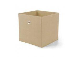 Látkový box Winny - oranžový