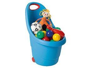 KIDDIES GO vozíček - modrý