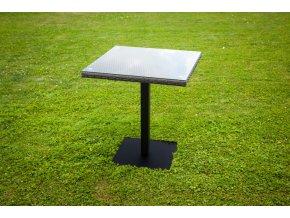 Zahradní designový stůl BARCELONA - hnědý