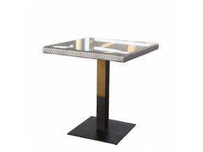 Zahradní designový stůl BARCELONA - šedý