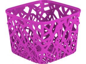 Košík NEO SQUARE - fialový
