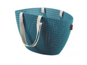 Bag EMILY KNIT - modrá