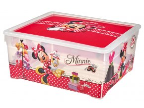 Box TEXTILE BOX - 18,5L - MINNIE