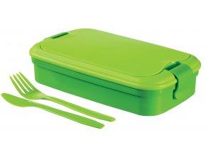 Dóza LUNCH & GO box - zelený