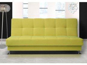Pohovka Dream III B žluto-zelená