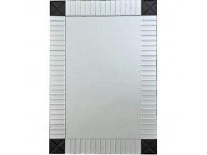 Zrcadlo ELISON TYP 3 - stříbrná/černá