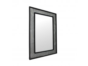 Zrcadlo ELISON TYP 9 - stříbrná / černá