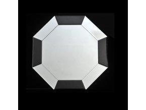 Zrcadlo ELISON TYP 14 - černá / bílá