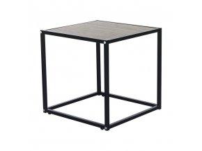 Příruční stolek JAKIM TYP 1 - dub / černá