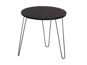 Příruční stolek RONIN - černý dub / černá