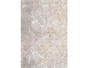 Koberec BALIN 120x180 - béžový se vzorem