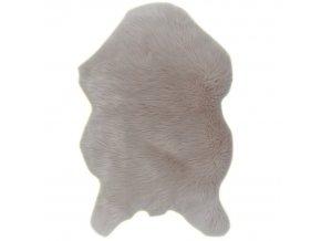 Koberec, umělá kožešina EBONY TYP 2 - béžová