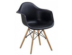 Jídelní židle Indiana - černá