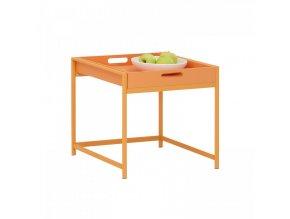 Servírovací stolek ANNIKA oranžový