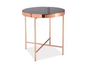 Konferenční stolek GINA C měď