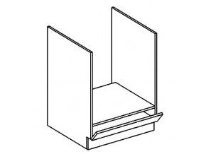 DK60 skříňka na vestavnou troubu PREMIUM de LUX olše