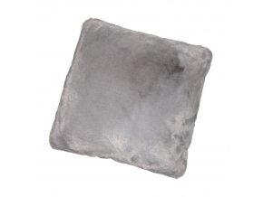 Polštář 45x45, RABITA TYP 3 - šedý