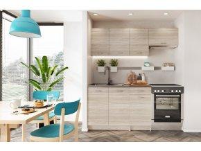 Kuchyně MELA 180 s PD dub sonoma