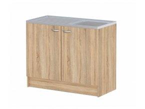 Kuchyňská skříňka Cassie 513 oak