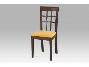 Jídelní židle BE1604 WAL/sedák S1 CRM