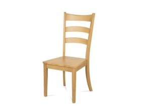 Dřevěná židle C-191 OAK bělený dub - II. jakost
