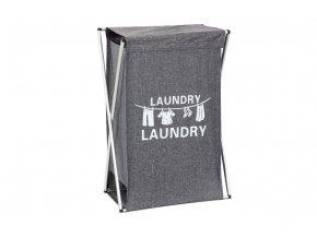 Koš na prádlo látkový DD3106, barva šedá