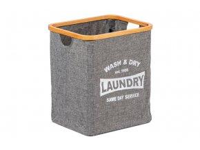 Koš na prádlo z textilu KD4423