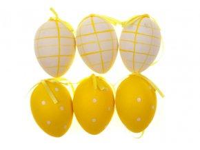 Vajíčko žluté plastové VEL5025