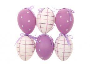 Vajíčko lila plastové VEL5026