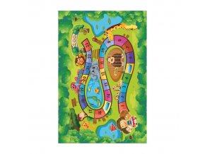 Koberec ZOAN, 100x150 - dětský vzor ZOO