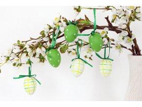 Vajíčko zelené plastové VEL5035
