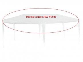 Střecha k altánu 3602-PE bílá