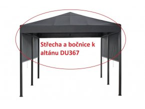 Střecha a bočnice k altánu DU367