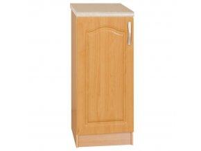 Kuchyňská skříňka LORA MDF NEW KLASIK S40 olše, levá