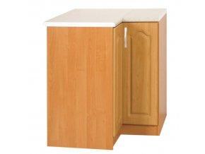 Kuchyňská skříňka LORA MDF NEW KLASIK S90 / 90 - olše, levá