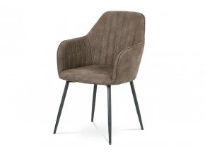Jídelní židle DCH-222 BR3 hnědá látka