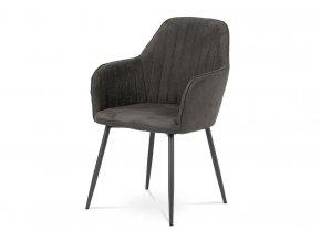 Jídelní židle DCH-222 GREY3 šedá látka